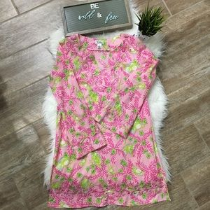 Lilly Pulitzer embroidered Tunic size S